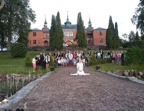 Eldshow på Bröllop i Österlen – I dagsljus