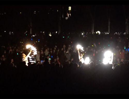Eldshow på nyårsafton i Katrineholm – för tio tusen personer